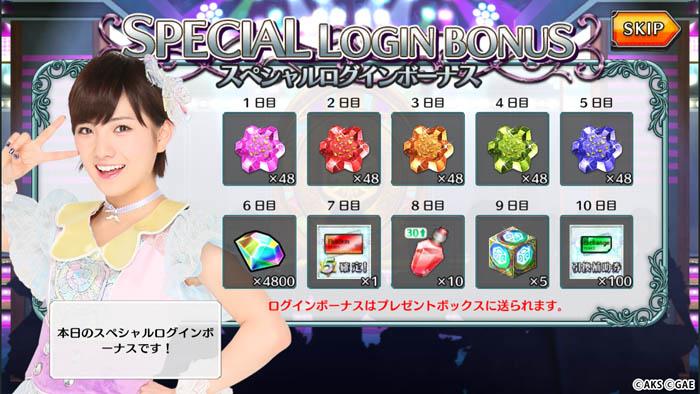 「スペシャルログインボーナス」キャンペーン2019年3月2日(土)~2019年3月18日(月)まで開催!